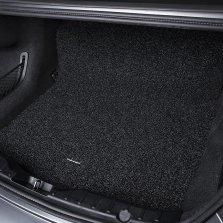途虎途悦 丝圈后备箱垫专车专用尾箱垫【咖色】