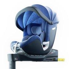 Babyfirst宝贝第一灵悦安全座椅0-7岁宝宝360°旋转 欧标i-Size 带遮阳棚【标准版 蓝色】