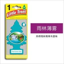 美国小树/Little Trees 汽车香片 香水挂件 除异味车载香水【雨淋薄雾】