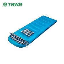 德国TAWA 户外冬季成人保暖睡袋 户外野营露营 带一只头枕 【1.6KG蓝色】140708