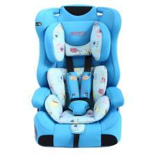 文博仕 HB-EA 车用儿童安全座椅 9个月-12岁宝宝 3C认证(海洋蓝)