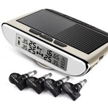 【包安装】铁将军/Steel Mate 太阳能胎压监测TPMS系统 960N【内置-香槟金】
