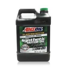 【美国原装进口】安索/AMSOIL 签名版系列 全合成长效静音 汽车机油润滑油 SN级 0W-20 3.78L【ASM1G】