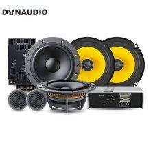 免费安装 丹拿DYNAUDIO ESOTAN 232 汽车音响改装 两分频套装+650x+FEM480.6C DSP同轴六喇叭处理器功放套餐