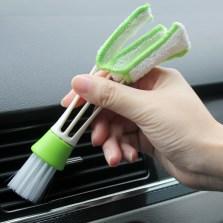 安美时 出风口清洁刷百叶窗清理刷空调口清扫毛刷软刷洗汽车内饰清洁工具