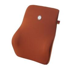 GIGI G-1110 车用记忆棉座椅腰枕 汽车靠垫靠背腰靠【棕色】