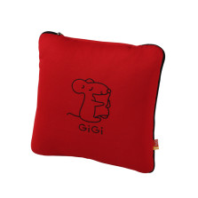 GIGI G-1070(A、E、U)车用护腰靠 大抱枕被子两用【红色】
