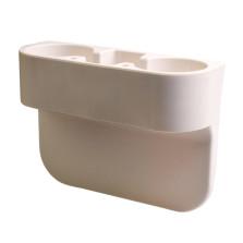 传枫/chuanfeng 车载水杯架 车载座椅缝隙收纳盒 缝隙饮料盒 CF-5003 【米色】