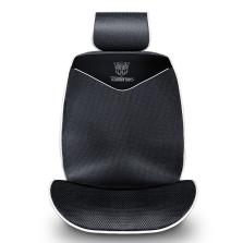 固特异车品制造商 孩之宝授权 纤维系列五座通用座垫【经典黑】