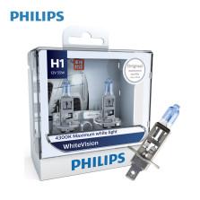 飞利浦/PHILIPS 璀璨之光White Vision 4300K H1 12V 55W 升级型卤素灯 12258WHV【双只】