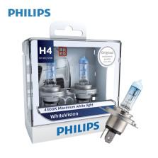 飞利浦/PHILIPS 璀璨之光White Vision 4300K H4 12V 60/55W 升级型卤素灯 12342WHV【双只】