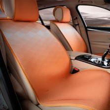 Mubo牧宝 MSJ 1607系列 舒适透气炫彩时尚四季空调垫五座通用汽车坐垫【橘色】