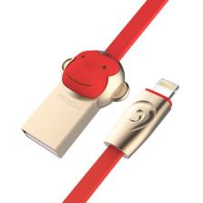 洛克/ROCK 猴子苹果数据线 【红】