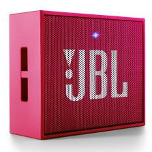 JBL GO音乐金砖 无线蓝牙小音箱 便携迷你音响/音箱 玫瑰红