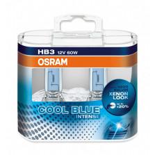 欧司朗/OSRAM 酷蓝二代 HB3 12V 60W 升级型卤素灯 4200K 9005CBI【双只】暖白光
