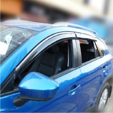 NFS 马自达CX-5 晴雨挡 遮阳挡 13-16款【豪华款/带卡扣亮条款】