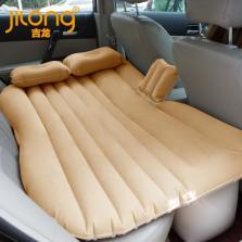 吉龙/JILONG 车载充气床垫轿车SUV 后排车中气垫床旅行床汽车用成人睡垫【米色】