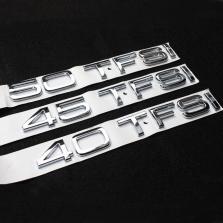 NFS 奥迪A6L 排量标 后标字标 奥迪车系通用【45 TFSI】