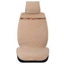 Mubo牧宝 MBY-W1701 秋冬款简丽丝绒5座通用座垫【米色】【多色可选】