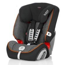 宝得适/Britax 超级百变王白金版 儿童安全座椅 9个月-12岁(曜石黑)