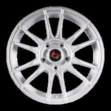 【四只套装】丰途/华固HG2661 14寸 低压铸造轮毂 孔距5X100 ET35银色涂装