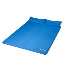 德国TAWA 自动充气帐篷垫 加宽加厚双人床垫自驾野营充气床【天蓝色】5222