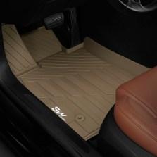 3W 全TPE脚垫凯迪拉克ATSL XT5 CT6 XTS专车专用无异味健康脚垫【CT6米色】