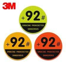 3M钻石级卡通反光贴-加92号油 圆形【多色可选】