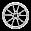 【买3送1 四只套装】丰途/FT508 18寸低压铸造轮毂 孔距5X108 ET40银色涂装