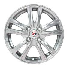 丰途/FT501 15寸低压铸造轮毂 孔距4*114.3