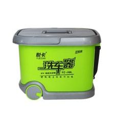 悦卡(YUECAR)电动高压洗车机洗车器洗车水枪 12V车载拉杆滚轮款 36L双泵