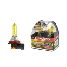 飞尼科斯/PHOENIX 黄金眼升级灯泡 12517  H8(AS) 2700K 35W【下单请备注车型】