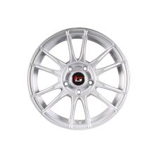 丰途/华固HG2661 15寸 低压铸造轮毂 孔距5X100 ET35银色涂装