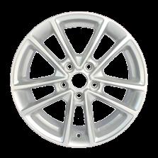 【券后价427元/只 四只套装】丰途严选/HG5012 16寸低压铸造轮毂 孔距5X108 福特新福克斯原厂款