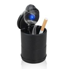 传枫/chuanfeng 车载带LED灯烟灰缸 带盖通用烟缸