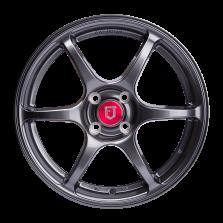 丰途/FR652 16寸 旋压铸造轮毂 孔距4X100 ET38亮铁灰全涂装