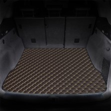 御马(yuma)车佰仕皮革后备箱垫专车定制 棕色
