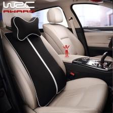 WRC 记忆棉气囊头枕腰枕 黑色