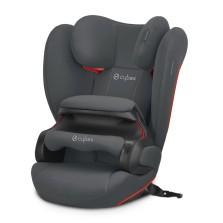 cybex赛百适 Pallas b fix 9月-12岁汽车儿童安全座椅 钢灰色