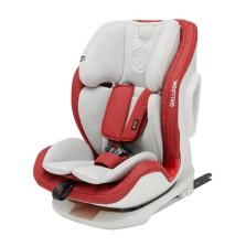 惠尔顿WELLDON 诺亚系列 9个月-12岁isofix汽车儿童安全座椅 【雅典红】