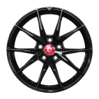 【四只套装】丰途/FR553 18寸 低压铸造轮毂 孔距5X120 ET30黑色涂装