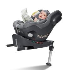 宝贝第一 启萌系列 0-4岁 isofix接口+防翻支撑腿 汽车儿童安全座椅 【北极灰】