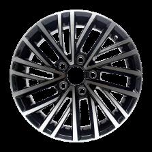 丰途严选/HG1455 14寸 大众捷达原厂款轮毂 孔距5X100 ET38黑色车亮