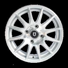 丰途/FT101 14寸低压铸造轮毂 孔距4X114.3 银色车亮