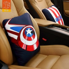 GiGi漫威Marvel联名抱枕被子两用钢铁侠 美国队长