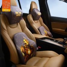 GiGi漫威Marvel汽车头枕腰靠复仇者联盟4卡通记忆棉护颈枕护腰垫 钢铁侠套装