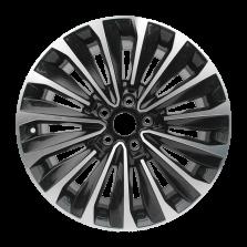 丰途严选/HG1411 18寸 大众帕萨特原厂款轮毂 孔距5X112 ET48黑色车亮