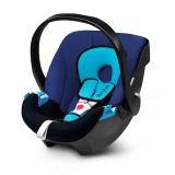 德国 cybex/赛百适 Aton提篮 0-15个月婴儿安全座椅 欧洲ADAC认证 月光蓝