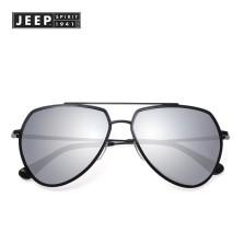 Jeep吉普太阳镜男 司机驾驶偏光眼镜潮 墨镜女款 遮阳镜A3092 L1黑框水银片