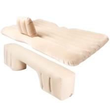 沿途 车载充气床后排旅行床车内后座气垫床 分体有档 植绒 F26 米色